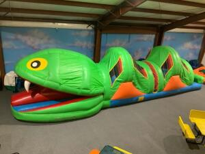 Fun Snake Obstacle Course Inflatable