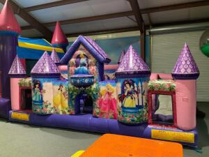 Princess Learning Center Inflatable Course