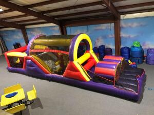 40ft Obstacle Course Inflatable
