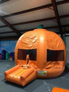 Pumpkin Moonwalk Inflatable