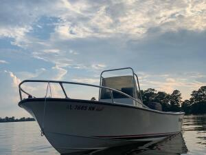1985 Seaway CC Center Console 17ft Boat with Trailer