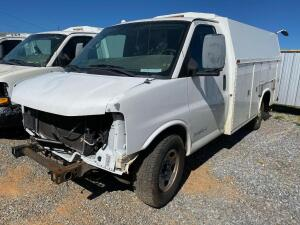 2010 Chevrolet 2500HD Utility Body Van
