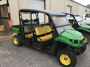 "2014 ""JOHN DEERE,"" XUV 550 S4, 4WD,2 SEAT,4PASSENGER GATOR,HOURS N/A,,SERIAL #1M0550FBJEM030442, BAD ENGINE AND TRANS"