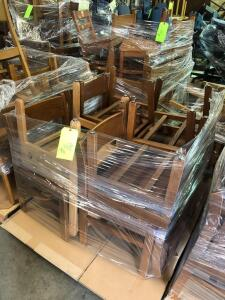 Pallet - Wood Student's Chairs