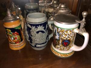 Lot- Beer Mugs- Germany