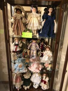 Lot- Porcelain Dolls