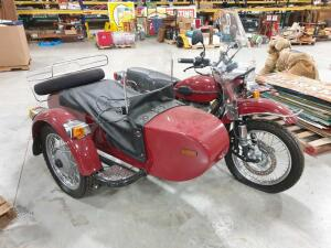 2006 URAL Motorcycle with Sidecar