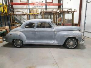 1948 Plymouth Coupe Project Car