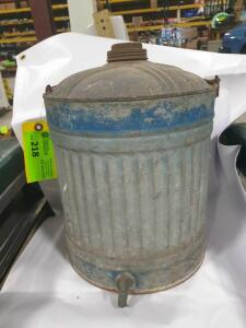 "12"" tall water can with spout"