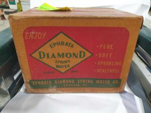 "Diamond Spring Water Case Only 14"" long +/-"