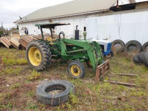 UPDATED VIDEO! - John Deere 2030 Tractor with front forks
