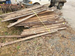 (1) Lot of LOOSE BOARDS approximately 500 boards of rough cut 1 x 4 Southern Yellow Pine