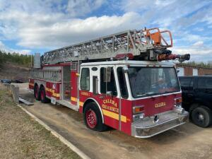 1985 E – One Aerial Fire Apparatus Ladder Truck