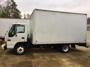 UPDATED INFORMATION 2004 GMC W3500 Truck, VIN # 4KDB4B1434J801107