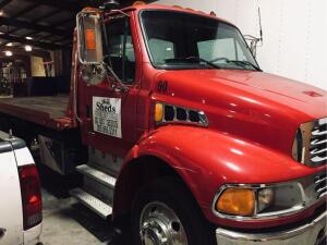 UPDATED INFORMATION! 2004 Sterling Rollback Truck VIN #: 2FZACFCS54AM65849