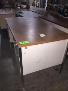 "Metal Office Desk 60"" x 29"" x 30"""