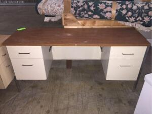 Metal Office Desk 20 x 62""
