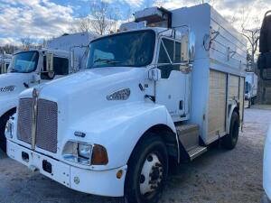 2007 Kenworth T-300 Service Body Truck