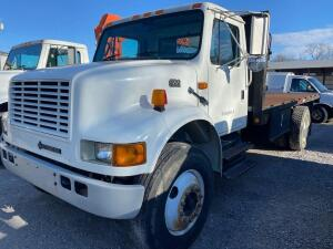 2002 International 4700 Flatbed