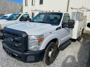 2014 Ford F350 Service Body Truck