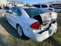 2011 Chevrolet Impala (WRECKED). CNG Fuel only - 2