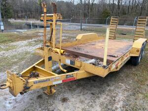 2015 Better Built 8 Ton Equipment Trailer
