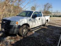 UPDATED INFORMATION: 2007 Ford F-150 Pickup Truck, VIN # 1FTRX12WX7NA49603 - 2