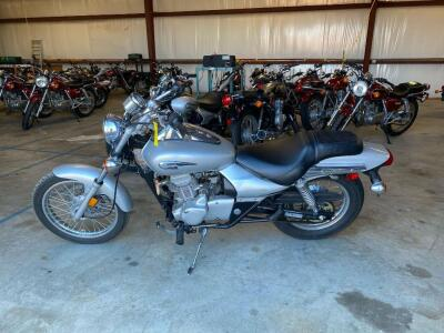 2007 Kawasaki Eliminator BN125A Motorcycle