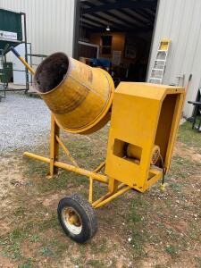 Portable Concrete Mixer - Pull Behind