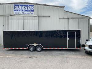 2018 Cynergy Cargo 30ft Enclosed Car Hauler Trailer