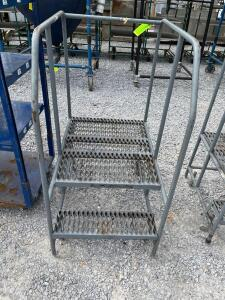 Cotterman Rolling Warehouse Ladder - 2 Step