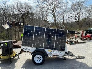 Solar Light Tower Trailer SLT 1200