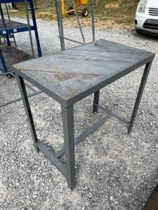 Little Giant Metal Work Table 2 1/2 ft. x 1 1/2 ft.
