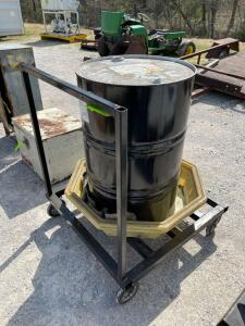 Multi-Therm PG-1 Heat Transfer Fluid with Spill Control Base and Metal Rolling Dolly
