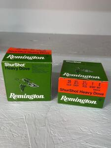 Remington Shurshot Heavy Dove 20 Gauge Ammo - 50 rds