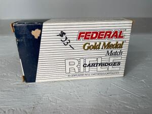 Federal 308 Win Match Ammo - 20 rds