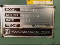 Mazak Power Center SV-14; S.N. 69604; Good working order - 12