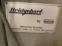 Bridgeport milling machine - 6