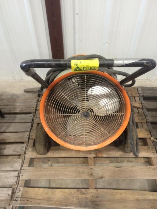 lot 161 of 402: dayton model 1rku2a electric heater,3-phase,480 volt