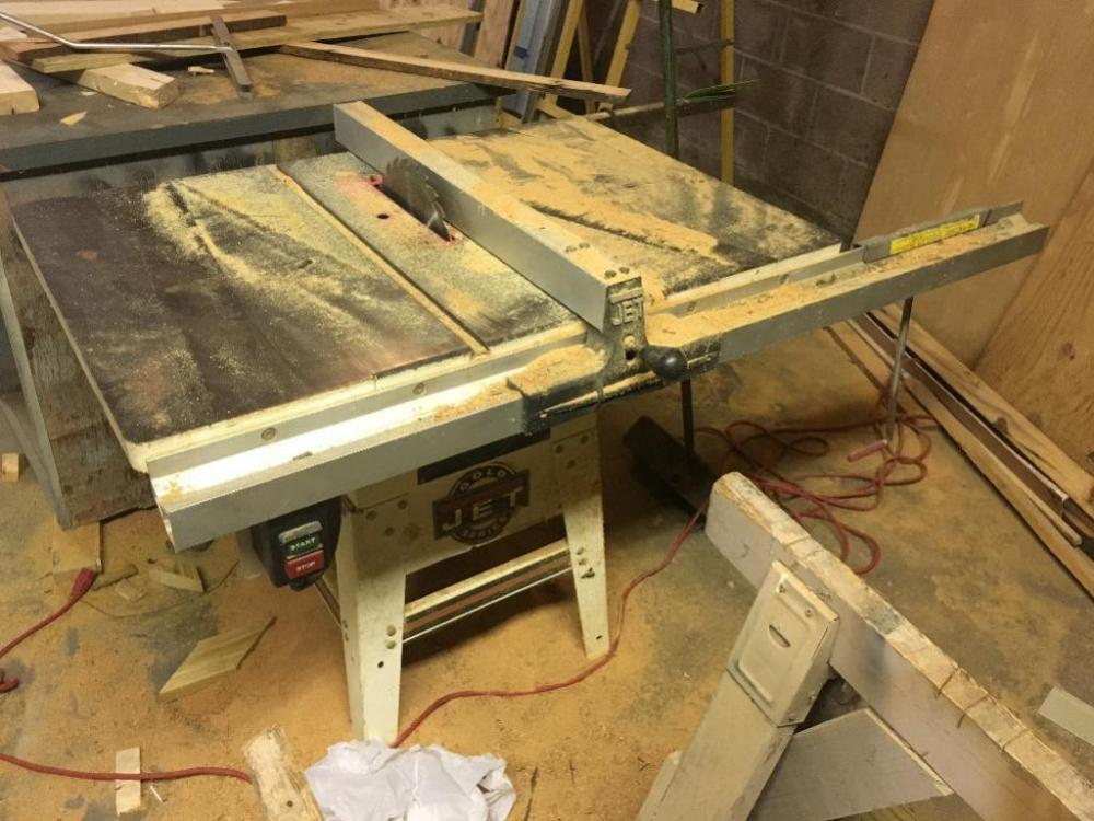 Jet gold series table saw 10in lot 101 of 89 jet gold series table saw 10in greentooth Choice Image