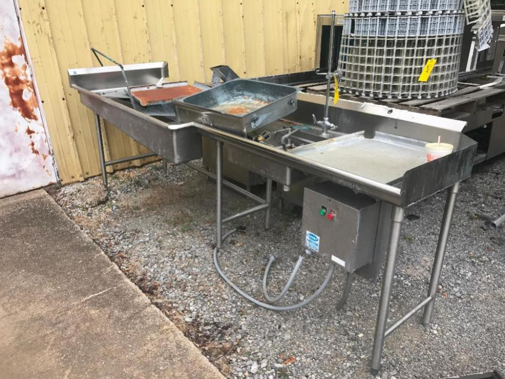Ft Stainless Steel Sink - 10 ft stainless steel table