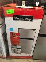 4.3 Cu Ft Magic Chef Two Door Fridge
