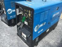 "2008 ""MILLER"" BIG BLUE DIESEL 400D WELDER/GENERATOR ON SKIDS,11848 HOURS,SERIAL # LJ380053E,RUNS AND WELDS"