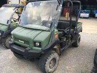 "2013 ""KAWASAKI"" 4010 4X4 2 SEATER MULE, 2100 HOURS, SERIAL # JK1AFCR17DB519793, RUNS"