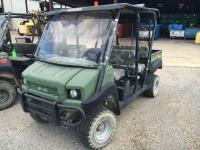 "2013 ""KAWASAKI"" 4010 4X4 2 SEATER MULE, 2556 HOURS, SERIAL # JK1AFCR13DB519791, RUNS"