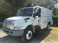 2003 International 4300 DT466 Service Body Truck