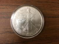 Liberty 1 oz Silver Dollar Coin - 2007