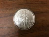 Liberty 1 oz Silver Dollar Coin - 2008