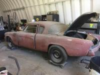 1953 Studebaker Champion 2 Dr. Coupe. No Engine or Transmission. Mustang II Front End