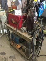 Welder, Plasma Cutter, Tank, & Cart